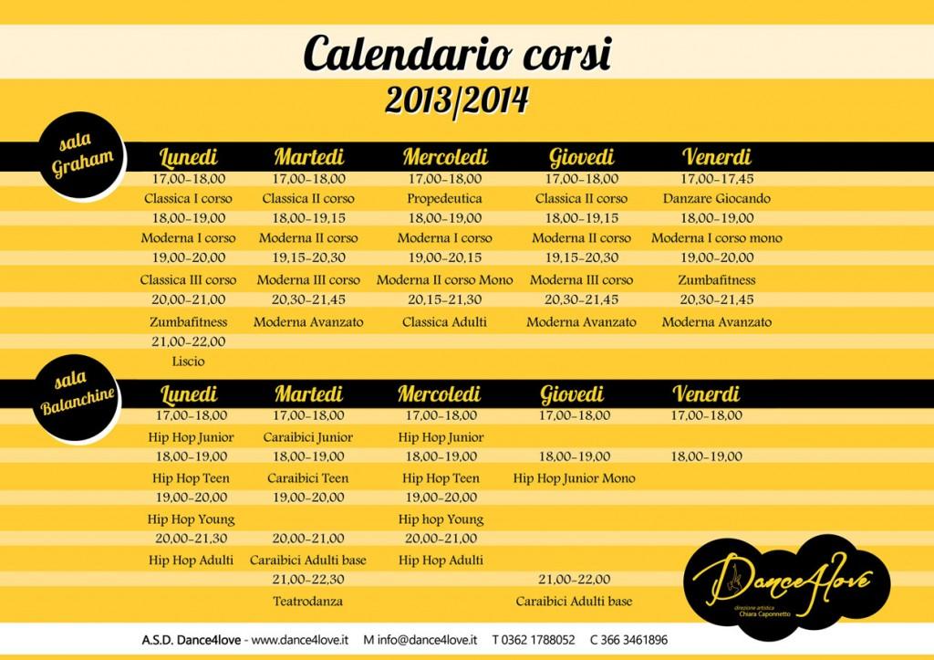 Dance4love - corsi2013-14